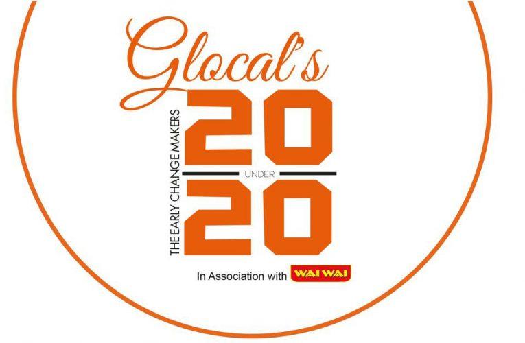 ग्लोकल टीन हिरो नेपाल अन्तर्गत, ग्लोकल २० अन्डर २० को सूची सार्वजनिक